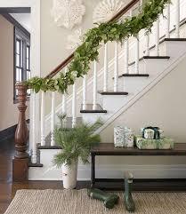Christmas Banister Garland 10 Fresh Ideas For A Christmas Staircase Megan Morris