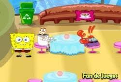 jeux de bob l 駱onge qui cuisine bob l éponge restaurant jeu spongebob jeu en ligne