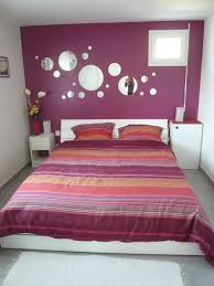 chambres adulte chambre adulte prune et blanc décoration d intérieur