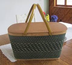 vintage picnic basket vintage picnic basket upcycle project by decoart