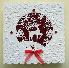 247 best spellbinder christmas card ideas images on pinterest