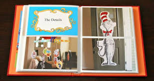 creative photo albums dr seuss baby shower album simply styled home