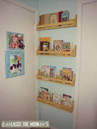 Door Bookshelves by Hide These Slim Bookshelves Behind A Door Organizing