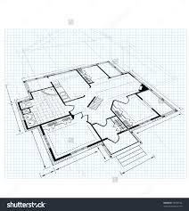 Fleur De Lys Mansion Floor Plan Image Drawing House Plan Small Square Stock Vector 75349132