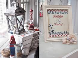 ahoy it u0027s a boy a nautical themed baby shower the little