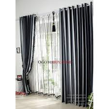 Blackout Curtains Black Black And White Patterned Blackout Curtains Gopelling Net