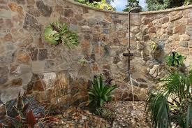 Outdoor Shower Mirror - how to build an elegant outdoor shower u2013 orange county register