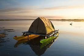 the kayak tent platform experiment roamer post