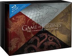 game of thrones season 1 gift set blu ray 2012 region free