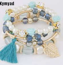 bracelet bead sets images Kymyad fashion design girl jewelry handmade bracelets sets for jpg