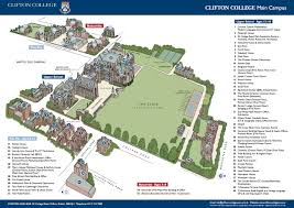 Bristol England Map by Clifton College Centre Experio Study Abroad