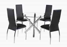 phoenix glass dining table only with stainless steel base