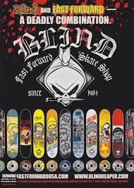 Blind Skateboards Logo Blind Skateboards Fast Forward Ad 2000 U003c Skately Library