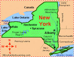 map new york state new york facts map and state symbols enchantedlearning