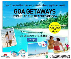 travel packages images 19 best goa tour packages images touring tourism jpg
