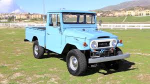 original land cruiser 1965 fully restored fj45 long bed land cruiser for sale youtube