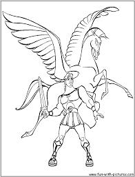 pegasus coloring pages getcoloringpages com