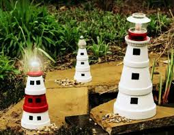 8 simple clay pot lighthouse projects for your garden guide patterns