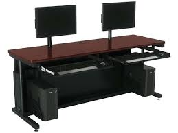 Desks Computer Desks Computer Desk Dual Monitor U2013 Plfixtures Info