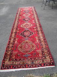 Blue Rug Runners For Hallways Vintage Oriental Rug Hand Made Runner Tribal Persian 3 U0027 6