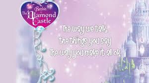 voices song barbie diamond castle lyrics