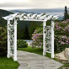 garden vinyl arbors design u2013 outdoor decorations
