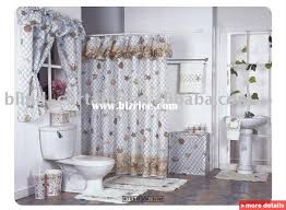 shower curtains with valance and tiebacks interior designing wonderful fabric shower curtains with valance and shower