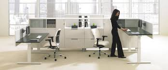 Height Adjustable Meeting Table Livello The Total Office