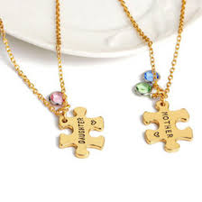Gold Engraved Necklace Discount Engraved Necklaces For Moms 2017 Engraved Necklaces For