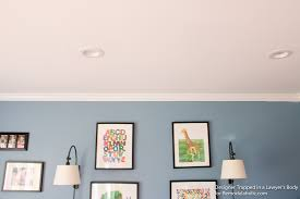 How To Install Recessed Lighting In Ceiling Remodelaholic How To Install Recessed Lights Without Attic Access