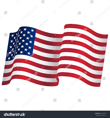 Flag Of The United States Of America Waving Flag United States America Usa Stock Vector 613501325