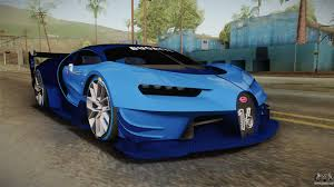 car bugatti 2017 bugatti vision gt for gta san andreas