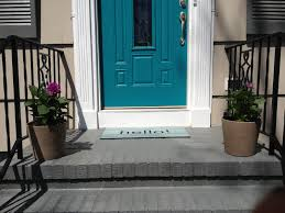 What Color To Paint Front Door Retro Ranch Reno Front Porch Painting U0026 Quick Update