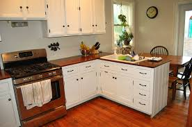 Kitchens With Dark Wood Cabinets Farmhouse White Kitchen Stainless Steel Pull Out Faucet Dark