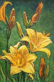 Day Lillies Robert Daughters Day Lilies Meyer Gallery