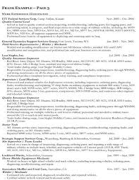 Welder Sample Resume by Government Job Resume Template 15 Federal Resume Examples Amazing