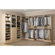 almond wood closet organizers closet storage u0026 organization