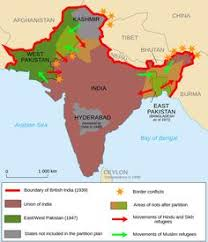 russia map before partition 1947 the partition of india an unofficial souvenir of partition