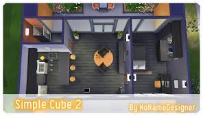 my sims 4 blog simple cube house base game u0026 no cc by