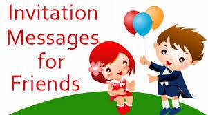 wedding invitations for friends invitation messages for friends exles of invitations wording