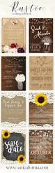 25 best sunflower wedding invitations ideas on pinterest