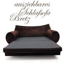 sofa ausziehbar bretz gaudi sofa ausziehbar