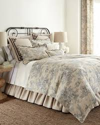 Black And White Toile Bedding Legacy Bedding U0026 Curtains At Neiman Marcus