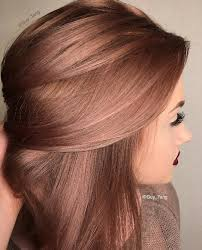 hair coulor 2015 pink rose gold new hair colour 2015 hairstyles to try