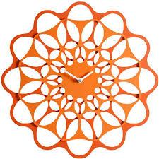Home Decor Clocks Best 25 Orange Wall Clocks Ideas On Pinterest Retro Kitchen