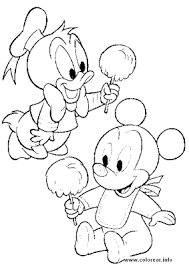 donald duck baby coloring pages to print coloring pages online