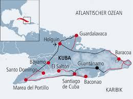 Guantanamo Bay Map Mountainbike Helden In Kuba