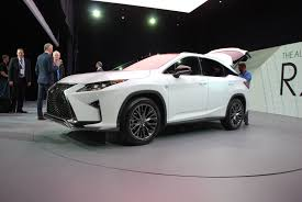 new york lexus rx the 2016 lexus rx tries to have fun by copying its little brother