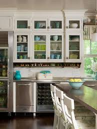 Kitchen Cabinet Doors Glass Incredible Kitchen Cabinets With Glass Doors With How To Add Glass