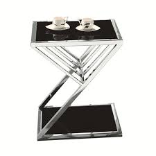 Mirror Glass Coffee Table by Stainless Steel Mirror Glass Coffee Table Simple And Stylish